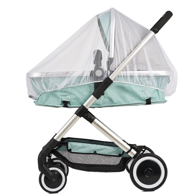 Baby Stroller Mosquito Insect Net Accessories Safe Mesh Buggy Crib Netting Cart Mosquito Net Pushchair Full Cover 1