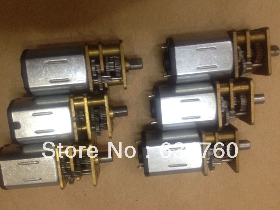 Physical store sales spot supply mini DC 3V 12GAN20 gear motor ...