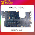 Para asus ux32vd motherboard sistema i3 cpu não-integrado testado frete grátis