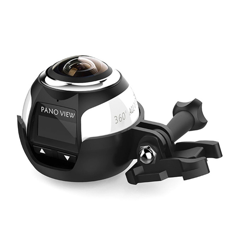 Driving Panorama-Camera Wifi Sport 360-Degree Ultra-Hd Mini 4k 360 ELRVIKE HDV 2448--2448