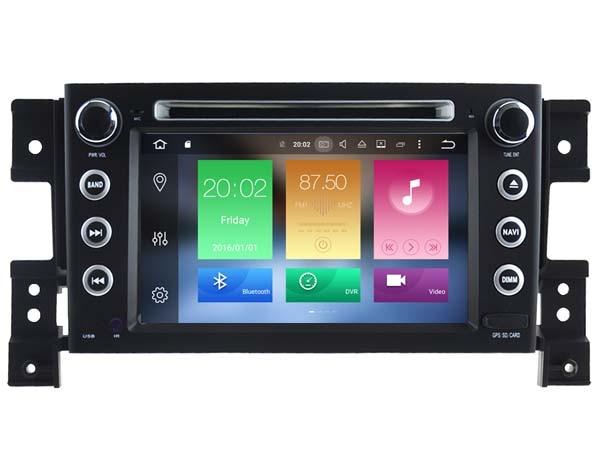 2GB RAM octa core Android 6.0 for SUZUKI GRAND VITARA 2005-2012 car dvd player AUTO NAVI stereo MEDIA WIFI gps 3G head units