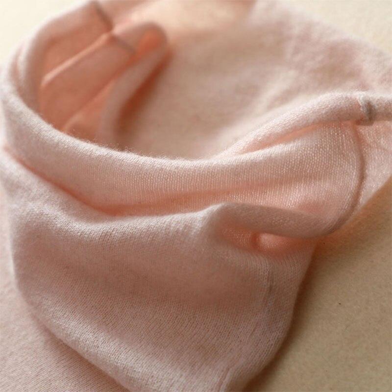 Rosa Moda De Jersey Cachemira Punto Larga Black 2019 gray pink Tops Básica Mujeres Manga Las Primavera 100 Alto Suéteres Para Suéter Mujer La Cuello Puro OwaqPRwE