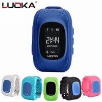LUOKA CHAUDE Q50 montre Smart watch Enfants Enfant Montre-Bracelet GSM GPRS GPS Locator Tracker Anti-Perte Smartwatch Enfant Garde pour iOS Android