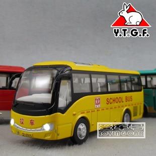Freeshipping Plain your good friend bus school bus alloy WARRIOR toy car model