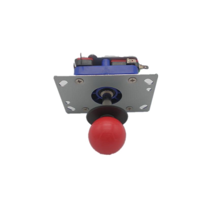 1 PCS ZIPPY vairasvirtė su 2,3 cm trumpu velenu 4 arba 8 būdais vairasvirtės arkada mašina dalys kelių spalvų kamuolys viršų prieinama