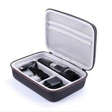 Портативный чехол для Philips Norelco multigum серии 3000 MG375, аксессуары для бритья, сумка для хранения EVA, чехол на молнии