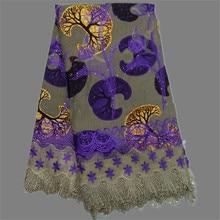 Wunderbare wahre super stickerei Afrikanische batik wachs schnur spitze stoff für abendkleid TFW12 (6 yards/lot)
