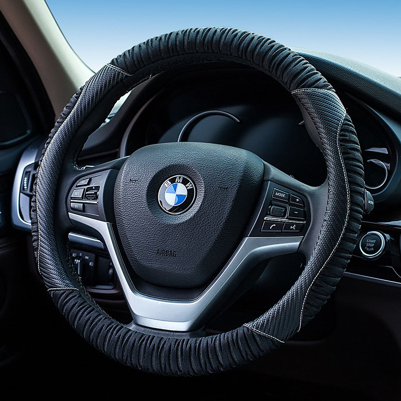 Hot Sale Leather Car Steering Wheel Cover Durable Breathable Anti