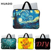 купить Laptop bag for Van gogh design Handbag Notebook Sleeve Case Carrying Bag  710 12 13 14 15 17 дешево