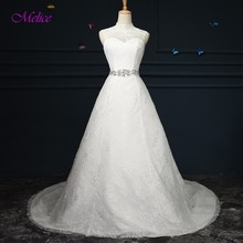 fsuzwel Melice A-Line Wedding Dress 2019 Court Train