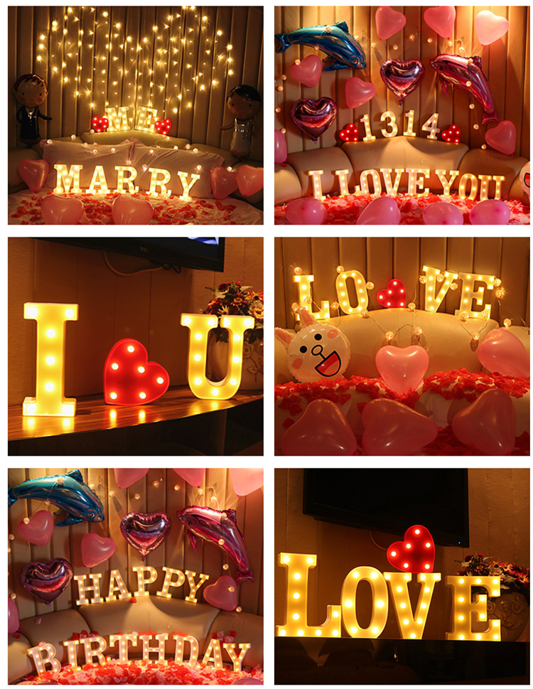 HTB1MjtNXjvuK1Rjy0Faq6x2aVXa5 Luminous LED Letter Night Light English Alphabet Number Lamp Wedding Party Decoration Christmas Home Decoration Accessories
