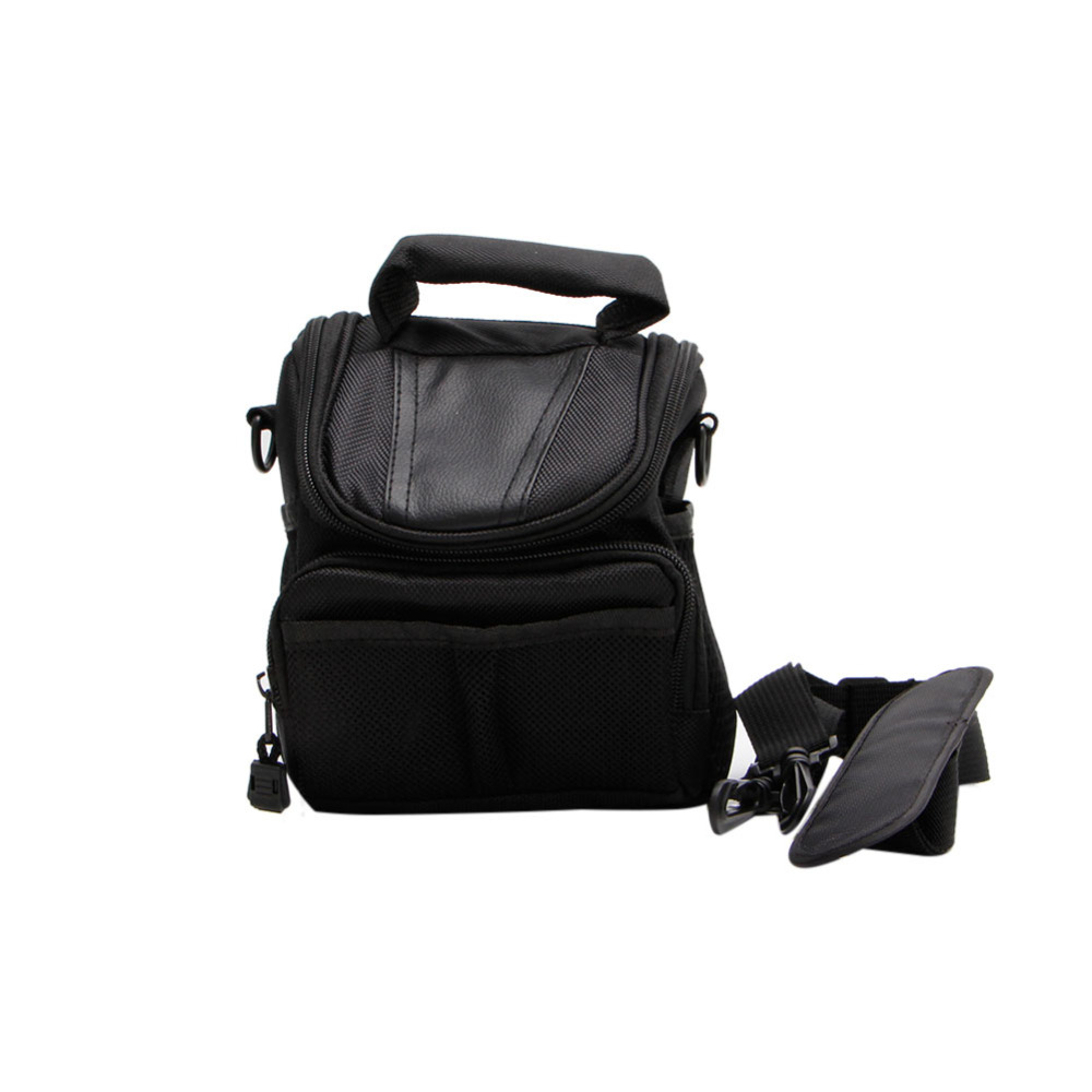 1 PC Small Nylon Waterproof Camera Shoulder Bag Case Handbag For Nikon Canon SLR DSLR
