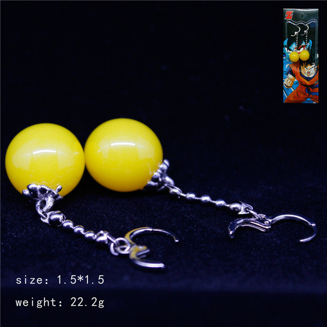 1 Pair Dragonball Super Potara Earrings Limited Collection
