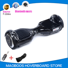 MAOBOOS scooter Classic 6.5-inch two-wheeled balance car with Bluetooth music intelligent Smart electric hoverboard
