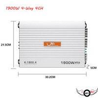 I Key Buy High Quality 12V Car Amplifier High Power 1900W Audio 4 Channel 4 Way