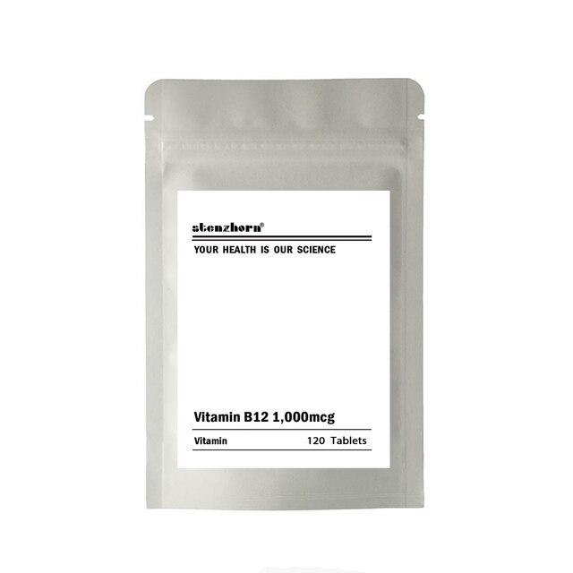 רב תכליתי תוסף ויטמין B12 1000mcg 120 יחידות אבטחת איכות
