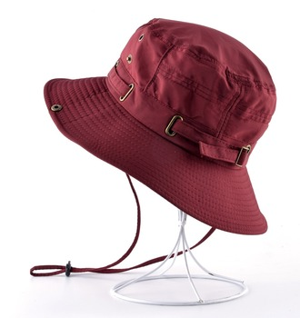 Beach Hats For Men Bob Woman Summer Bucket Gorras Outdoors Casual Hiking Fishing Caps Men's UV Protection Sun bone Casquette 2
