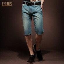 Fanzhuan новые модные мужские повседневные Прямые летние моющиеся шорты брюки джинсы 2004 по акции