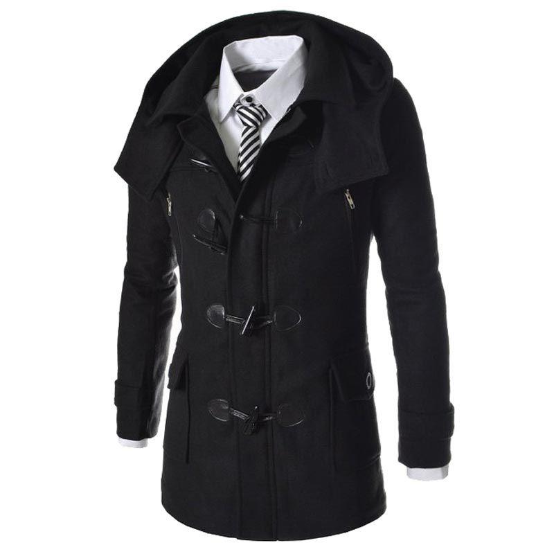 popular men pea coat buy cheap men pea coat lots from. Black Bedroom Furniture Sets. Home Design Ideas