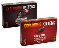 Exploding Kittens Card Game For 2 5 Players Game For Home Party Family Fun Board Game