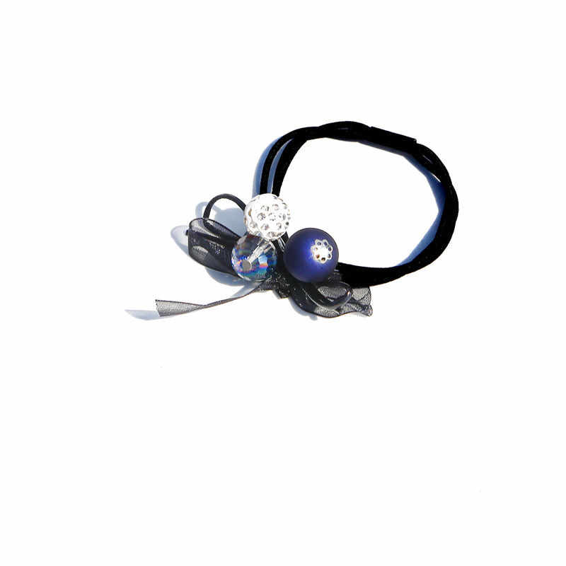 1 шт. милый Клевер серый шар эластичные женские обручи игрушки для детей ручной работы бант зажим для стрижки аксессуары для волос для девочек