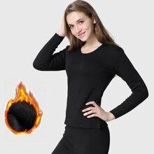 2018 Winter Thick Women Thermal Underwear sets Shirts+Pants Long Johns Men Keep warm tmall