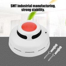 CO Smoke Detector Live Voice LED Display Alarm Carbon Monoxide Leakage Sensor Home Security Devices Smart Detectors.