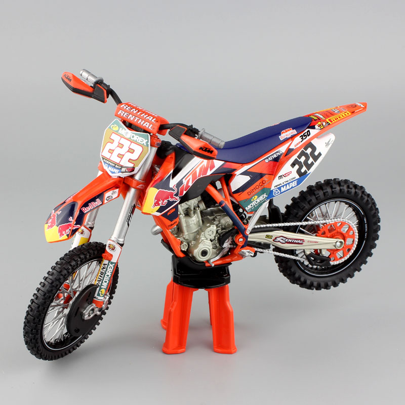 1 12 scale mini red bull KTM Factory Racing SXF 350 No#222 ...