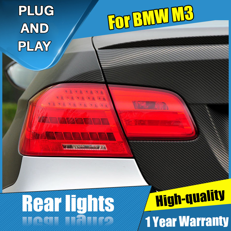 4PCS Car Styling for Mercedes Benz M3 Taillights 2006 2013 for M3 LED Tail Lamp Turn