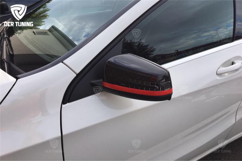 Mercedes Carbon Mirror W204 W207 W212 W176 W218 W221 Mercedes A C CLS E CLA Class Carbon Mirror