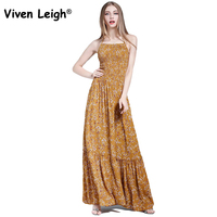 2017 Beach Dress Sexy Boho Bohemian People Holiday Summer Backless Tie Up Maxi Long Party Hippie