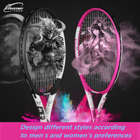 2019 New Models Tennis Training Tennis Racket Aluminum Alloy Racquet with Bag for Men And Women New Beginners with free Bag