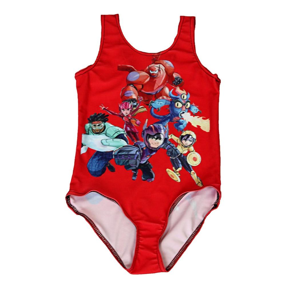 2016 ragazze di estate del bambino swimwear maillot de bain fille toddler costumi da bagno rosso