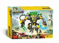 Xây dựng mô hình kit tương thích với lego Anh Hùng Factory Howe máy 3D khối Giáo Dục xây dựng mô hình sở thích đồ chơi cho trẻ em