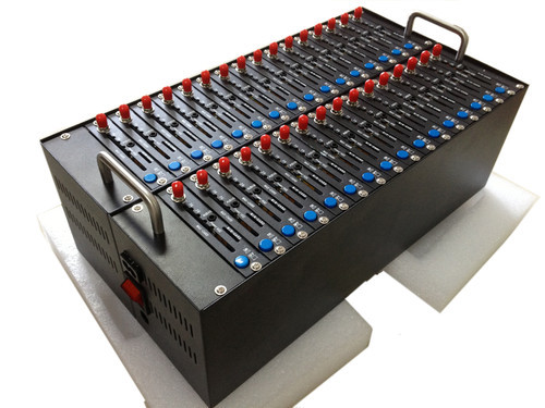 32 ports gsm modem Wavecom Q2403 send bulk sms sending with imei changing