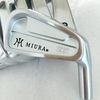 Cooyute New Mens Golf head MIURA CB-501 FORGED Irons Clubs head set 4-9.P MC-501 Golf Irons head No Golf shaft  Free shipping