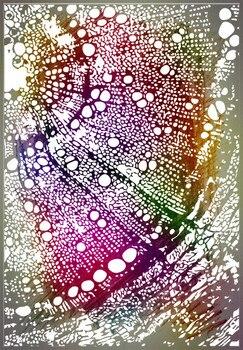 PANFELOU 11*16 microcosm world, sello de silicona transparente, sello DIY para álbum de recortes, hojas de sellos transparentes decorativas para álbum de fotos