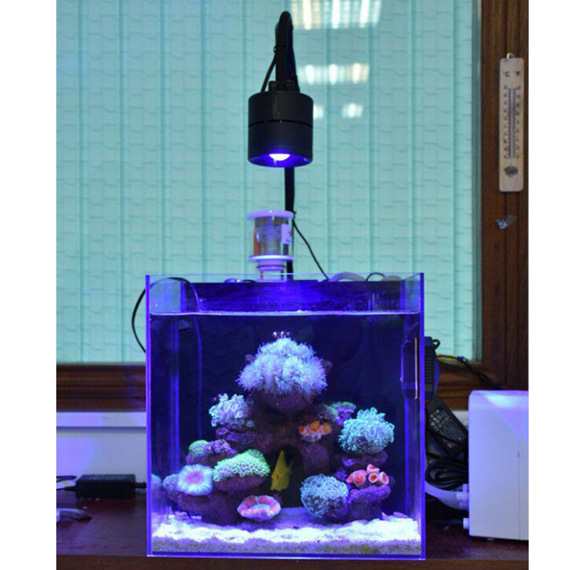 Aquarium seawater Coral Light 30W 70W Sea water Sunrise sunset Full spectrum LED sea cylinder. Sea Coral Light Tube Clamp lamp-in Lightings from Home & Garden    1