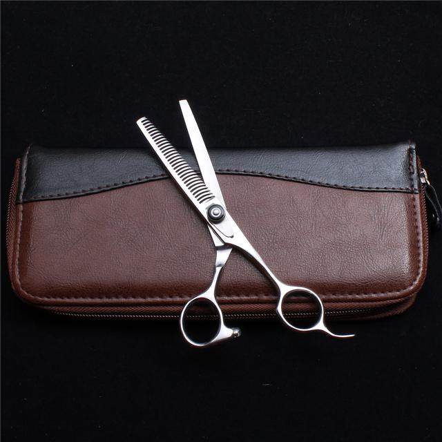 6″ 17cm Customize Logo JP Titanium Thinning Scissors Professional Hairdressing Scissors Haircut Shears Salon Hair Scissors C2002