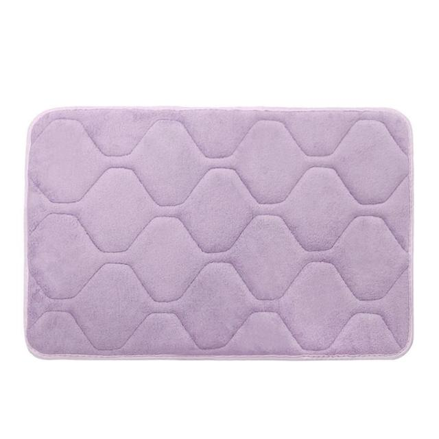 New Qualified Memory Foam Mat Bath Rug Shower Non-slip Floor Carpet Levert Dropship dig633