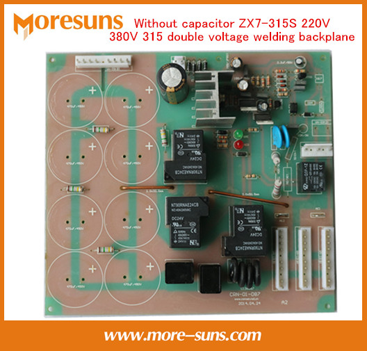 Without capacitor ZX7-315S 220V 380V 315 double voltage welding backplane/power board 220/380V dual-use pcb Welder accessories