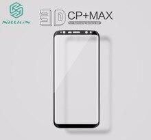 Для Samsung Galaxy S8/S8 плюс закаленное Стекло полный чехол Nillkin 3D CP + Max vidro Pelicula Плёнки для примечание 8 Экран протектор