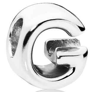 Dodocharms personalidad Simple 26 Cuentas de letras combinación creativa adecuada para DIY Pandora pulsera joyería Europea encanto