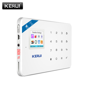 Image 3 - Kerui W18 警報システム無線lan gsmホームセキュリティワイヤレスモーション検出ドアセンサー警報キットと 110dB屋外ソーラーサイレン