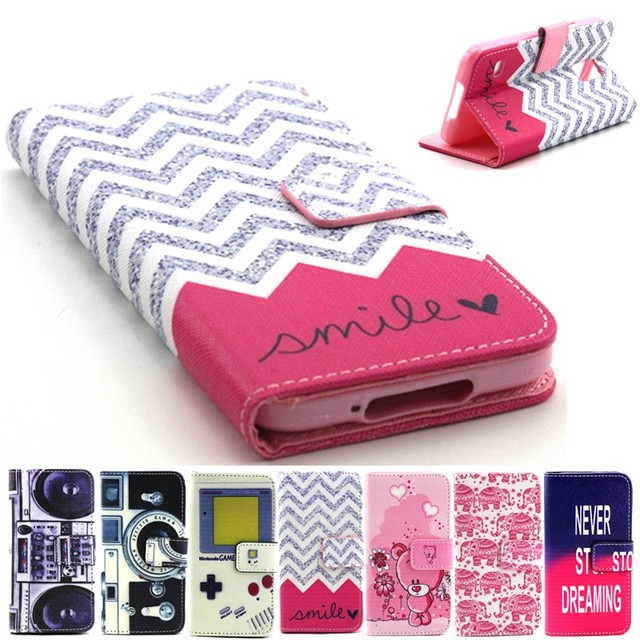 lowest price dca5f b83a9 For Samsung Galaxy S5 S 5 Wallet Cases Coque Etui Leather Flip Case Cover  Capinha Hoesjes Carcasa Capa Fundas Dear Game Camera-in Wallet Cases from  ...