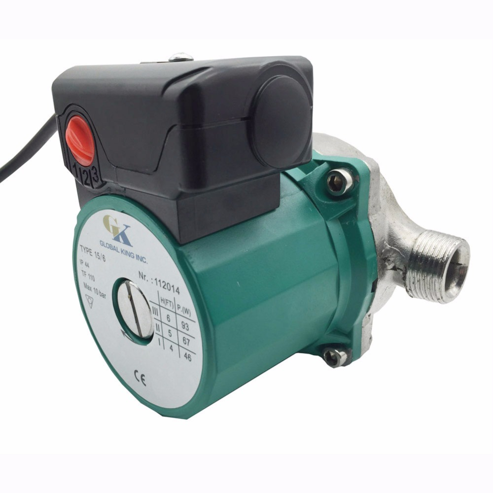 220-240V Automatic Stainless Steel Circulator Pump NPT 3/4 Household Hot Water Circulation Pump with USA Plug220-240V Automatic Stainless Steel Circulator Pump NPT 3/4 Household Hot Water Circulation Pump with USA Plug