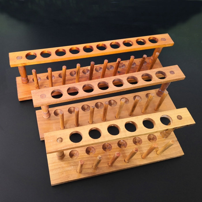 High quality wooden test tube rack 6,8,10,12 holes holder test tube stand pore size 21mm sales promotion 1pcs wooden test tube rack 12holes 24pcs glass test tube 24pcs silicone stopper