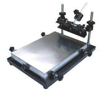 Yingxing autorisé nouveauté haute précision imprimante manuel pochoir imprimante machine d'impression en soie Machine