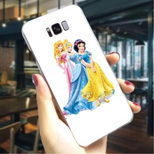 Snow White Hard Case for Samsung Galaxy S6 Edge Slim Phone Cover for Samsung Galaxy S9 Plus S10 Note 8 Note 9 Covers Back kinston rhombus pattern protective plastic hard back case for samsung galaxy note 2 n7100 white