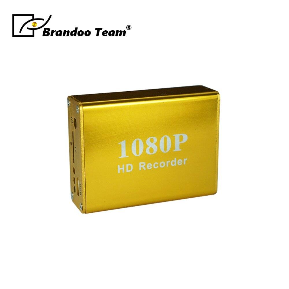 1Ch Mini DVR soutien Micro carte SD en temps réel CCTV DVR 1080 P MDVR